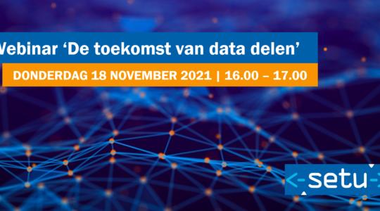 Webinar 'De toekomst van data delen'